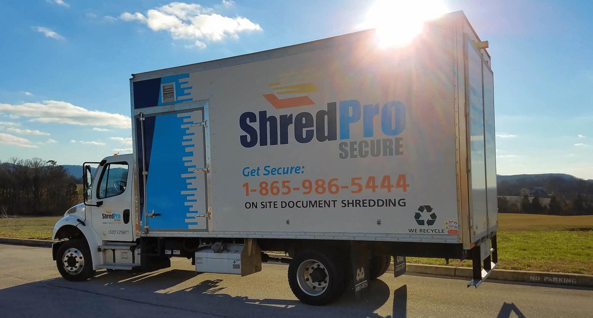 ShredPro Secure Mobile Shred Truck